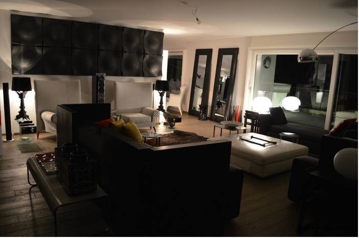 Appartement meubl de tr s grand standing avec vue for Appartement meuble geneve